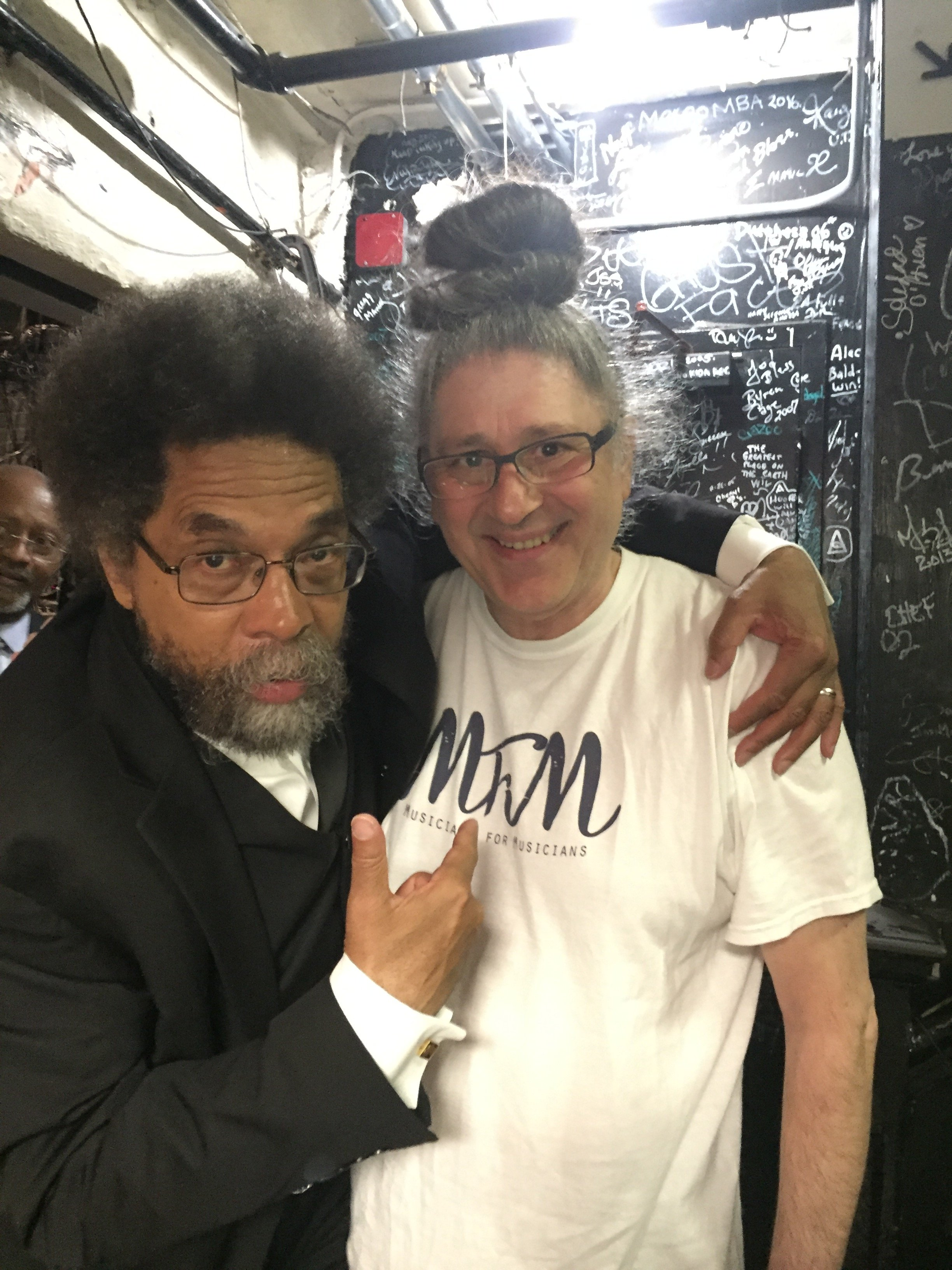 Sohrab & Dr. Cornell West @ the Apollo, May 21,2016