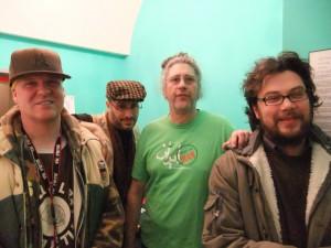 Swiss, John, Sohrab and Derek