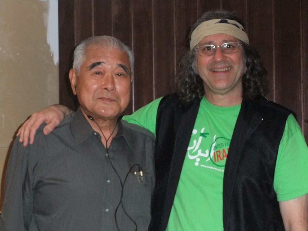 Sato sensei and Sohrab in Tokyo, 2009
