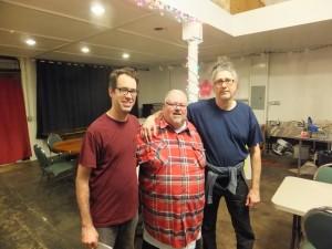Brian Prunka, Rene Broussard and Sohrab @ Zeitgeist (New Orleans)
